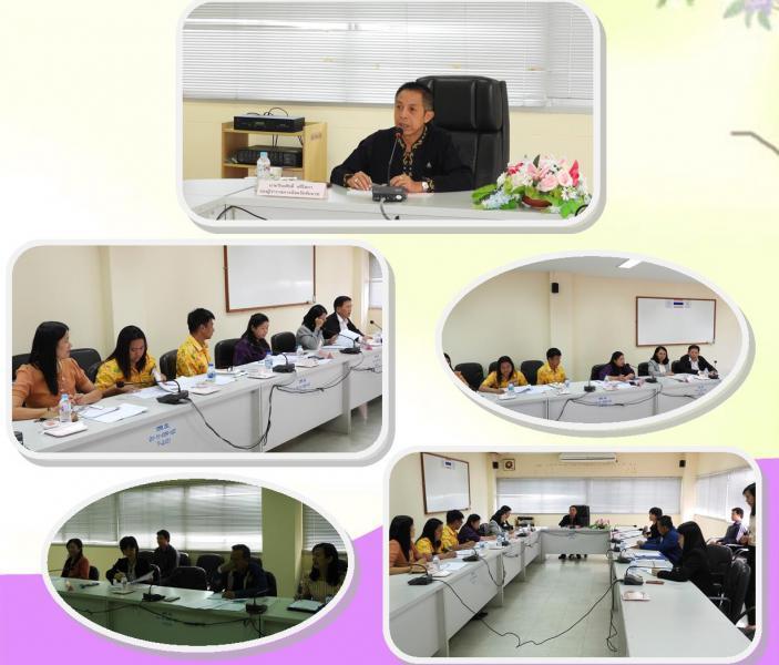 สรจ.ชัยนาท จัดประชุมหัวหน้าส่วนราชการสังกัดกระทรวงแรงงาน ประจำเดือนตุลาคม 2562